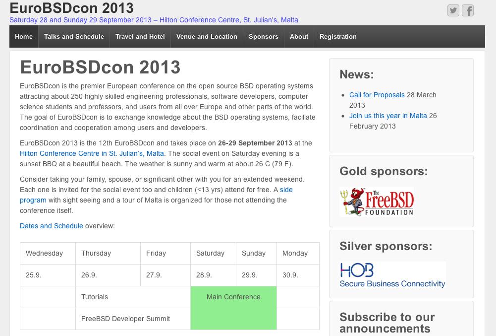 Klantspotlight: EuroBSDcon 2013